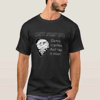 Cranky Mummy - Silence Is Golden T-Shirt