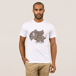 Cranky Pup Illustration T-Shirt