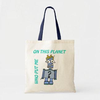 Cranky RoBoT Tote Bag