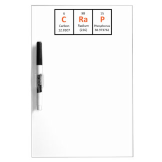 Crap - Periodic Table Dry-Erase Board