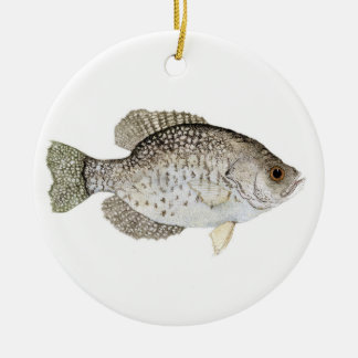 Crappie Christmas Ornament