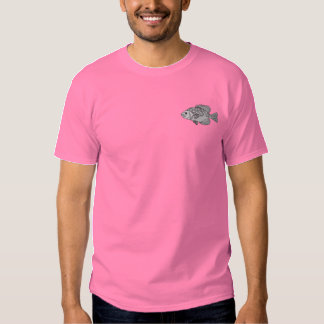 Crappie Embroidered T-Shirt