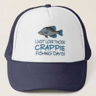 Crappie Fishing Day Trucker Hat