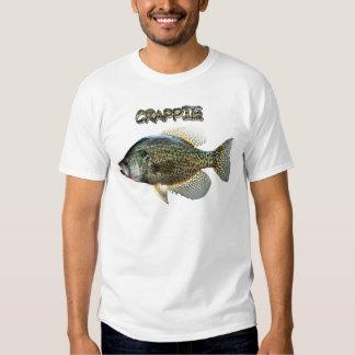 Crappie fishing tshirts