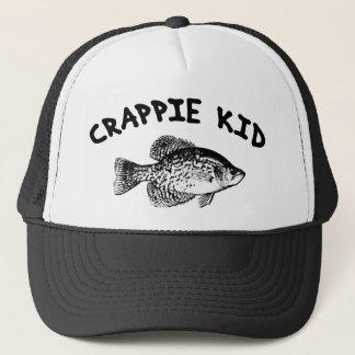 CRAPPIE KID TRUCKER HAT