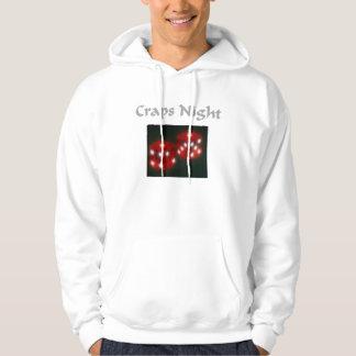 craps hoodie