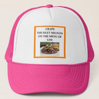 CRAPS TRUCKER HAT