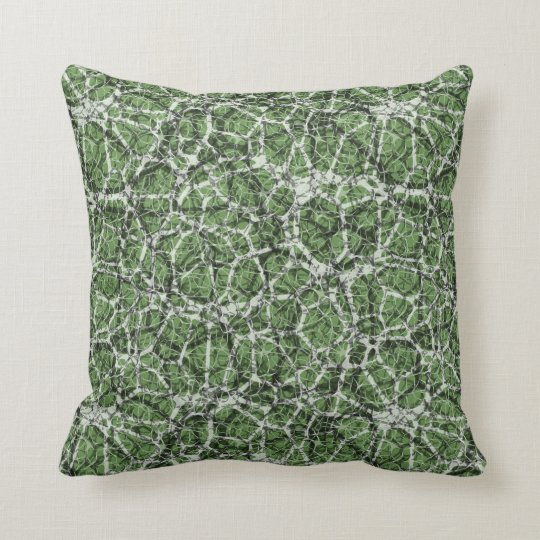 "Craquelure Effect Web Pattern ""Pick The Colour"" 1 Throw Pillow"