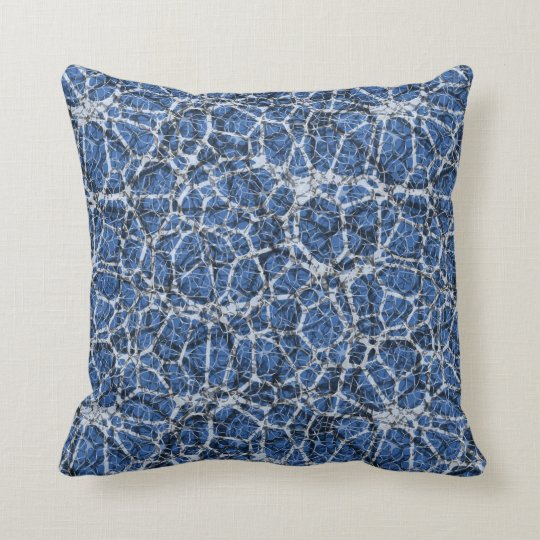 "Craquelure Effect Web Pattern ""Pick The Colour"" 2 Throw Pillow"