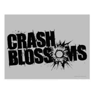 Crash Blossoms Postcard