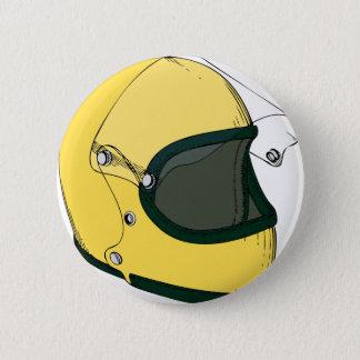 Crash Helmet 2 Inch Round Button