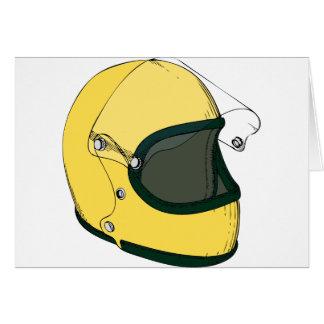 Crash Helmet Card