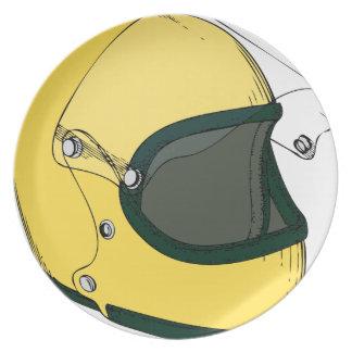 Crash Helmet Plate