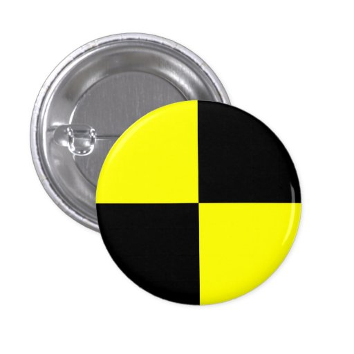 crash test dummies symbol sign car accident pinback buttons
