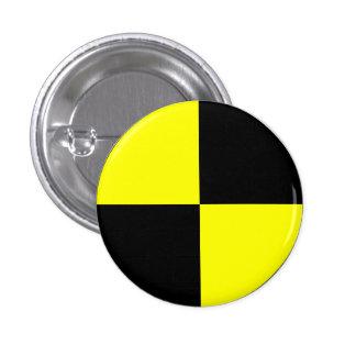 Crash Test Dummy 1 Inch Round Button