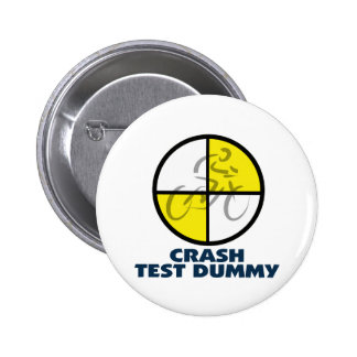 CRASH TEST DUMMY - bike Buttons