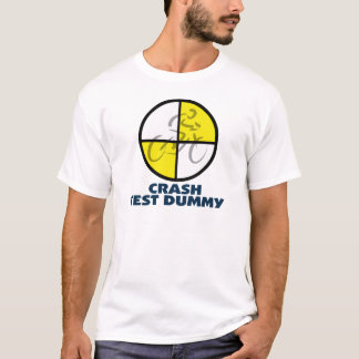 CRASH TEST DUMMY - bike T-Shirt