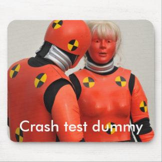 Crash test dummy mousemat mouse pad