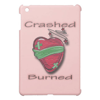 Crashed and Burned wounded heart iPad Mini Cover