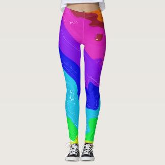 Crashing Colors Leggings