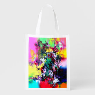 Crashing Colors Reusable Grocery Bag