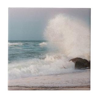 Crashing wave tile