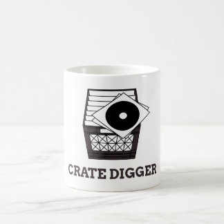 Crate Diggers Unite! Coffee Mug