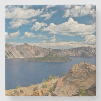 Crater Lake and Wizard Island, Crater Lake Stone Coaster