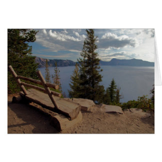 Crater Lake Cleetwood Cove Overlook Card
