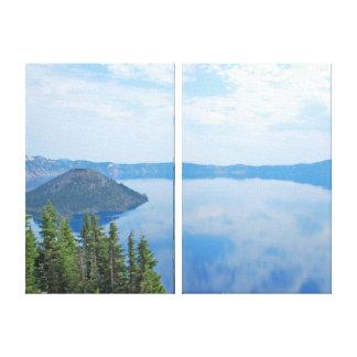 Crater Lake National Park Canvas Print