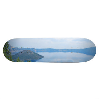 Crater Lake National Park Custom Skate Board