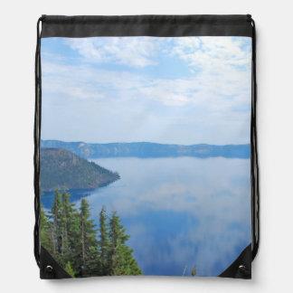 Crater Lake National Park Drawstring Bag