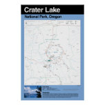 Crater Lake National Park Large Poster