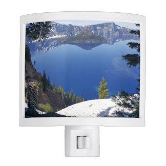 Crater Lake National Park night light