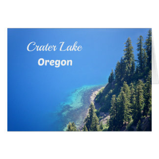 Crater Lake National Park, OR Card