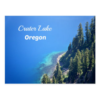 Crater Lake National Park, OR Postcard