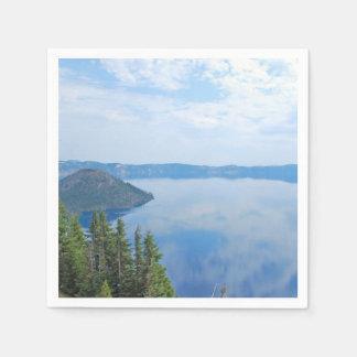 Crater Lake National Park Paper Napkins
