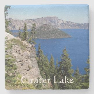 Crater Lake National Park Photo Stone Beverage Coaster
