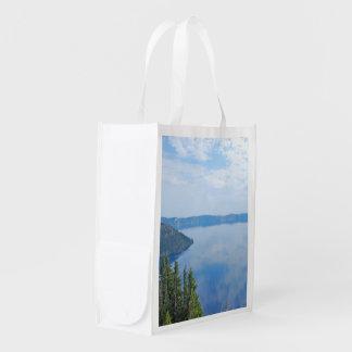 Crater Lake National Park Reusable Grocery Bag
