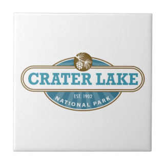 Crater Lake National Park Tile