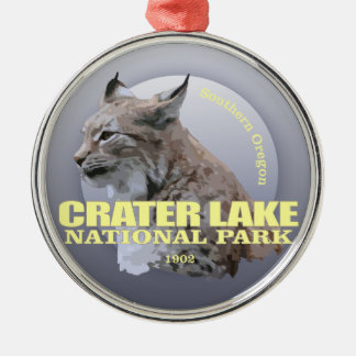 Crater Lake NP (Lynx) WT Metal Ornament