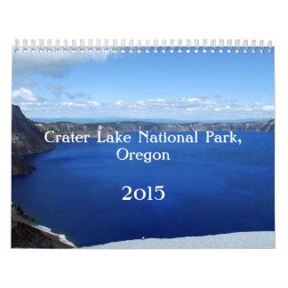 Crater Lake Oregon 2015 Wall Calendars
