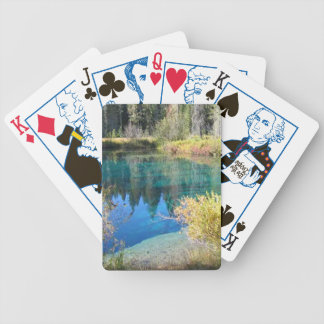 Crater Lake Oregon Bicycle Playing Cards