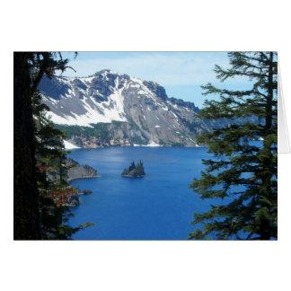 Crater Lake, Oregon Card