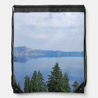 Crater Lake Oregon Drawstring Bag