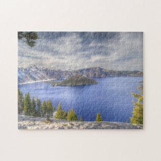 Crater Lake Oregon National Park Usa Jigsaw Puzzle