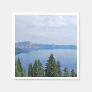 Crater Lake Oregon Paper Napkin