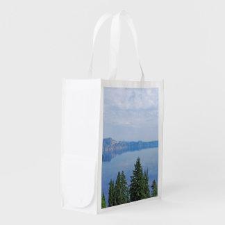 Crater Lake Oregon Reusable Grocery Bag