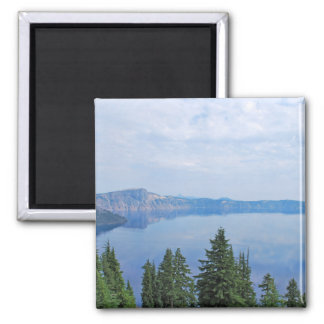 Crater Lake Oregon Square Magnet