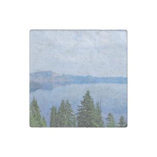 Crater Lake Oregon Stone Magnets